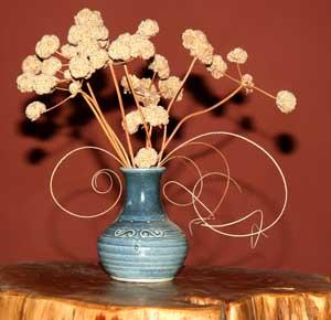 Yucca Fibers in bouquet